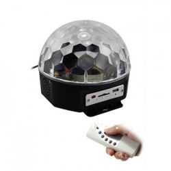 SOUNDSATION CB140 CRYSTAL BALL MUSICALE  CON PLAYER USB