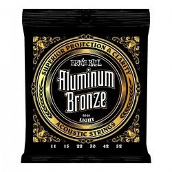 ERNIE BALL 2568 ALUMINIUM BRONZE LIGHT 11/52