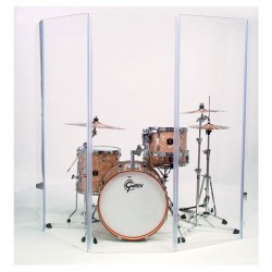 VORTEX ITALY DRUM SCREEN PANNELLI IN PLEXIGASS 50*75*5 3 PEZZI