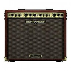 "BEHRINGER ACX450 ULTRACOUSTIC ACX-450 AMPLIFICATORE 8"" 45W CHITARRA ACUSTICA E VOCE"