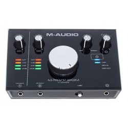 M-AUDIO MTRACK M-TRACK 2x2M INTERFACCIA AUDIO MIDI/USB 2-IN/2-OUT 24Bit/192kHz