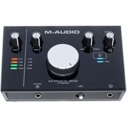 M-AUDIO M-TRACK MTRACK 2x2 INTERFACCIA AUDIO USB 2-IN/2-OUT 24Bit/192kHz