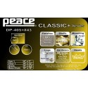 PEACE CLASSIC DP-405 IDAHO SPARKLE - BATTERIA ACUSTICA CON FINITURE VINTAGE