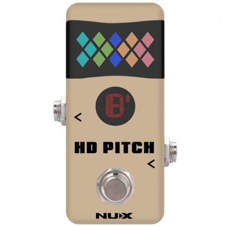 NUX NTU-2 HD PITCH MINI ACCORDATORE A PEDALE FUNZIONE BUFFER