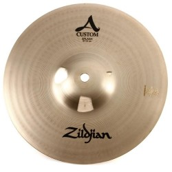 "ZILDJIAN A CUSTOM SPLASH 10"" - PIATTO SPLASH 10"" PER BATTERIA"