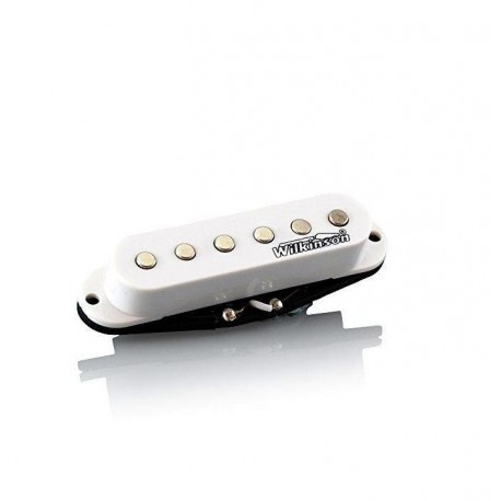 WILKINSON WHS NECK HIGH OUT PICK-UP PER CHITARRA ELETTRICA SINGLE COIL BIANCO