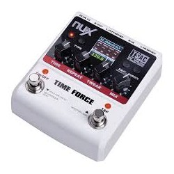 NUX PEDALS TIME FORCE MULTI DIGITAL STEREO DELAY /LOOPER