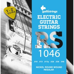 MUTA PER CHITARRA ELETTRICA GALLI STRINGS RS1046 Regular