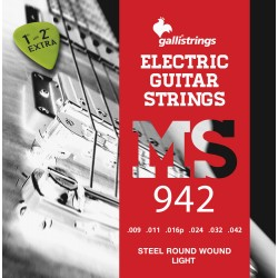 MUTA PER CHITARRA ELETTRICA GALLI STRINGS MS942 Light